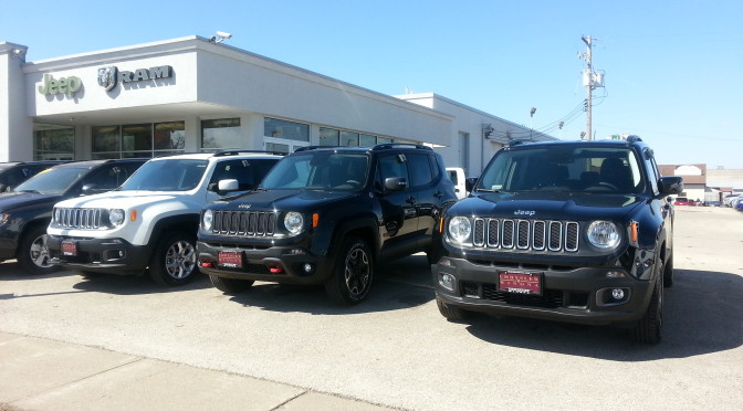 2015 Jeep Renegade Now Available at Chrysler Winona!