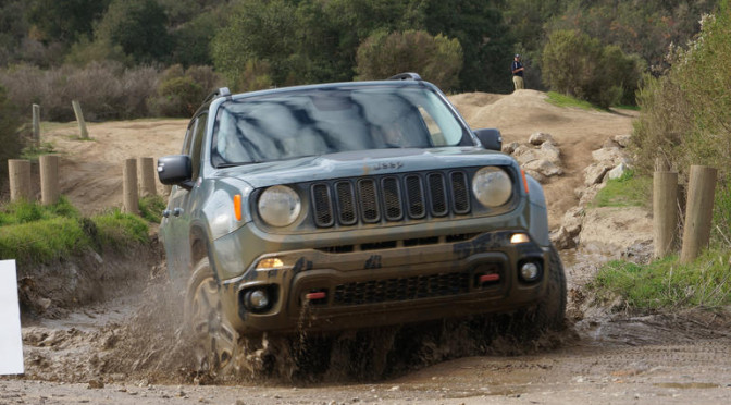 Jeep® and Ultimate Off-Road Capability. Renegade Edition